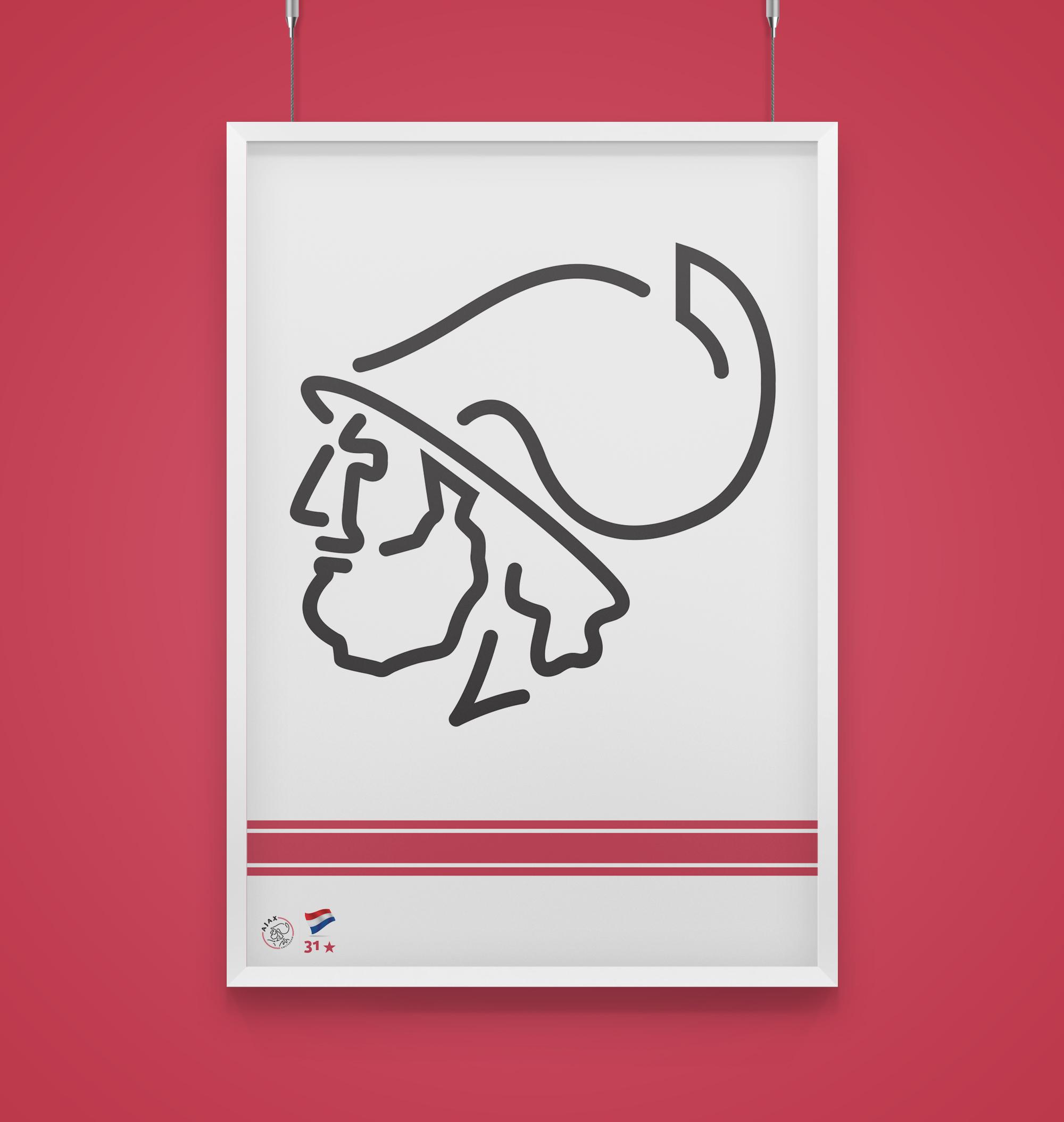 raniev-rod-alvarez-diseño-gráfico-queretaro-poster-minimalist-champions-1-ajax